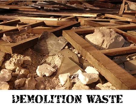Demolition Waste Removal Service