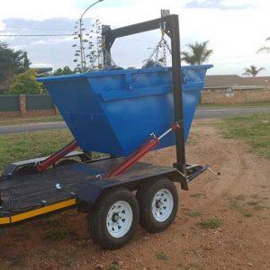 Blue Mini Skip Rubbish Removal Services