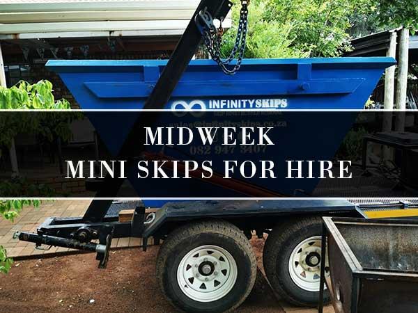 Midweek Three Day Mini Skip Bins